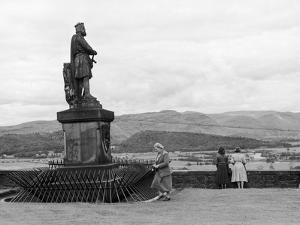 Stirling Castle 1949 by Staniland Pugh