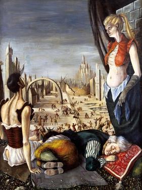 The Nightmare, C1850-1890 by Stanislas Lepine
