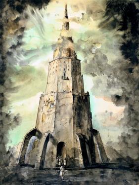 The Tower, C1850-1890 by Stanislas Lepine