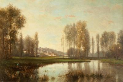 Au Bord De L'Oise (A River Scene)