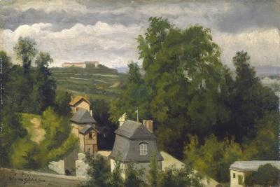 View of the outskirts of Caen, 1872-75