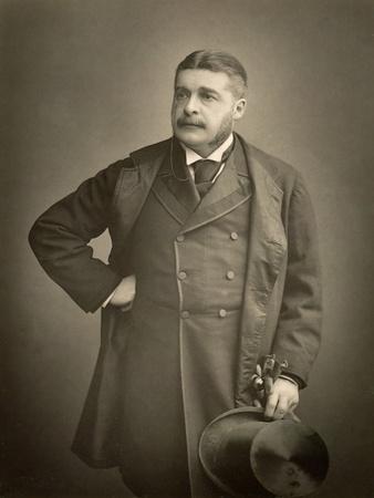 Sir Arthur Sullivan, Composer, Portrait Photograph