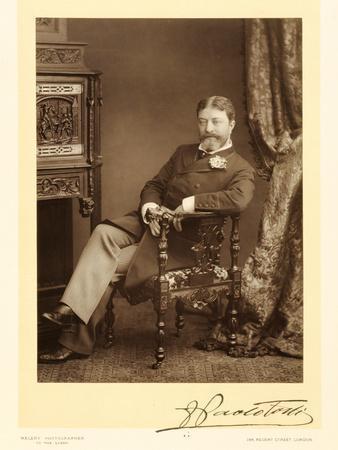 Sir Francesco Paolo Tosti (1847-1916), Song Composer, Portrait Photograph