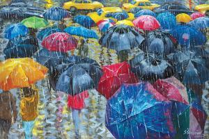 Colorful Umbrellas by Stanislav Sidorov