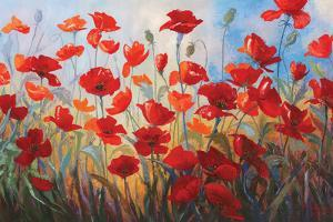 Poppies at Dusk III by Stanislav Sidorov