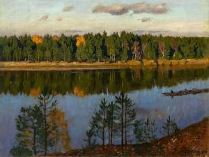 Autumn, 1930 by Stanislav Yulianovich Zhukovsky