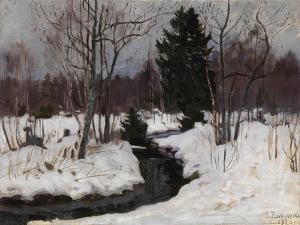 Early Spring, 1926 by Stanislav Yulianovich Zhukovsky