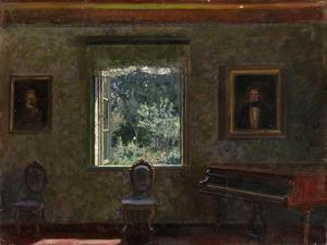 Interior. Sunny Day by Stanislav Yulianovich Zhukovsky
