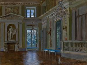 The Ballroom of the Lazienki Palace by Stanislav Yulianovich Zhukovsky
