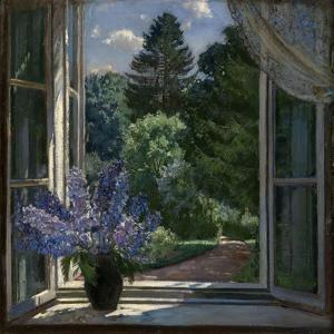 View from a Window, 1939 by Stanislav Yulianovich Zhukovsky