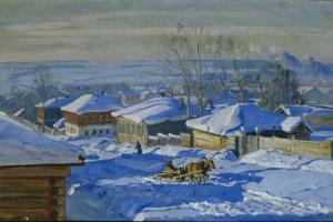 Winter, 1915 by Stanislav Yulianovich Zhukovsky