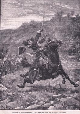 Battle of Killiecrankie: the Last Charge of Dundee Ad 1689 by Stanley Berkeley