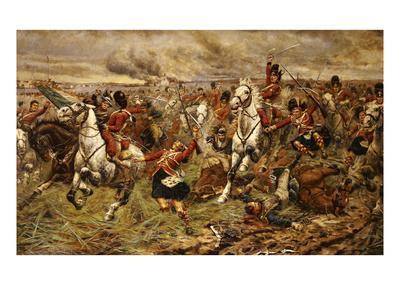Gordons and Greys to the Front! Incident at Waterloo