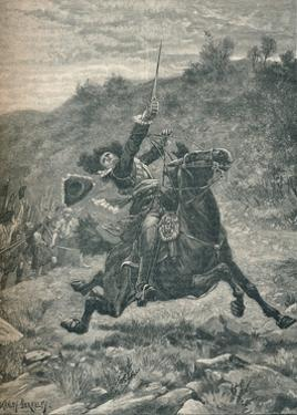 Last charge of Viscount Dundee at the Battle of Killiecrankie, Scotland, 1689 by Stanley Berkeley