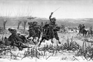 Prince Rupert at the Battle of Edgehill, 1642 by Stanley Berkeley