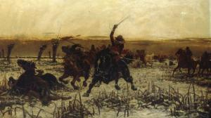 Prince Rupert, his Last Charge at Edgehill by Stanley Berkeley