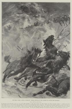 The Great Storm, Scene at Margate, Horses Drowned in the Attempt to Launch the Life-Boat by Stanley Berkeley