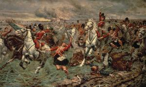 Waterloo Gordons And Greys To The Front by Stanley Berkeley