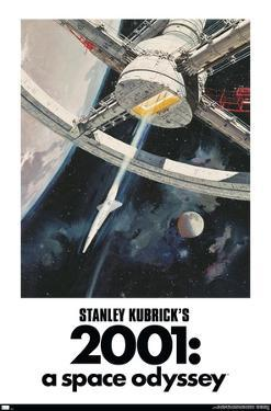 Stanley Kubrick's 2001: A Space Odyssey - One Sheet