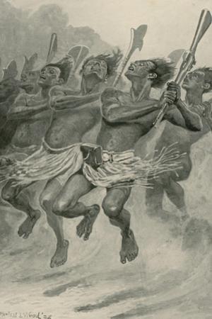 A Maori War-Dance