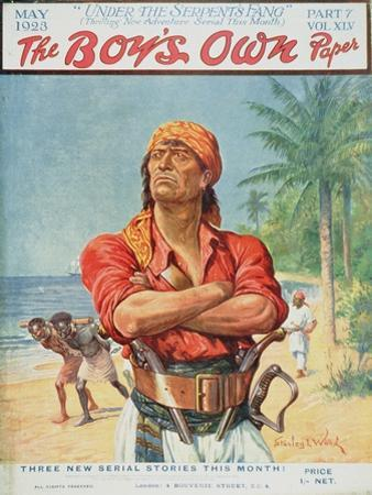 A Pirate Figure from the Front Cover of 'The Boy's Own Paper', 1923
