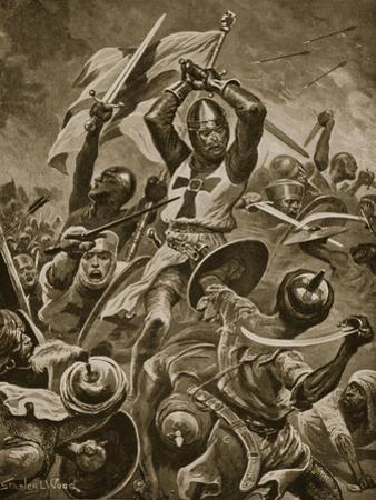Crusaders Storming the City of Tyre