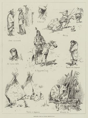 Sketches from an Indian Reservation