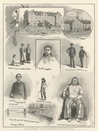 The Haskell Institute, a Training College for Indians, at Lawrence, in Kansas