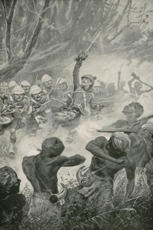 The Highland Charge at the Battle of Amoaful