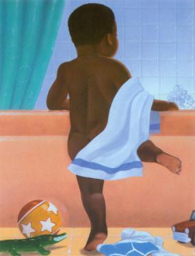 Bath Time Boy by Stanley Morgan