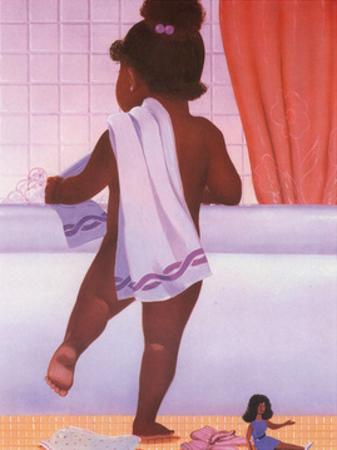 Bubble Bath Girl by Stanley Morgan