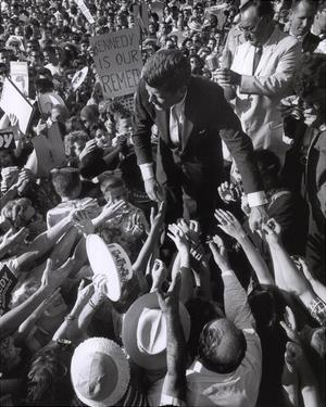 JFK Campaign, 1960 by Stanley Tretick