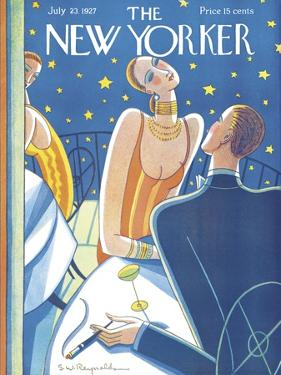 The New Yorker Cover - July 23, 1927 by Stanley W. Reynolds