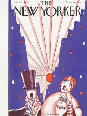 The New Yorker Cover - March 6, 1926 by Stanley W. Reynolds