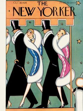 The New Yorker Cover - October 30, 1926 by Stanley W. Reynolds