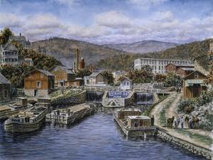 Little Falls Ny Ca 1905 by Stanton Manolakas