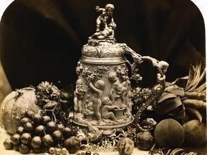 Albumen Print Still Life with Fruit by Roger Fenton by Stapleton Collection