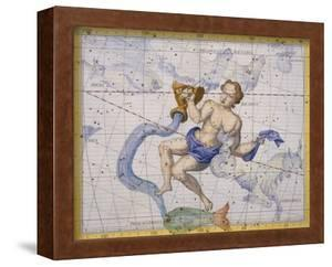 The Constellation of Aquarius by James Thornhill by Stapleton Collection