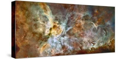 Star Birth and Star Death Create Cosmic Havoc in a Panorama of the Carina Nebula