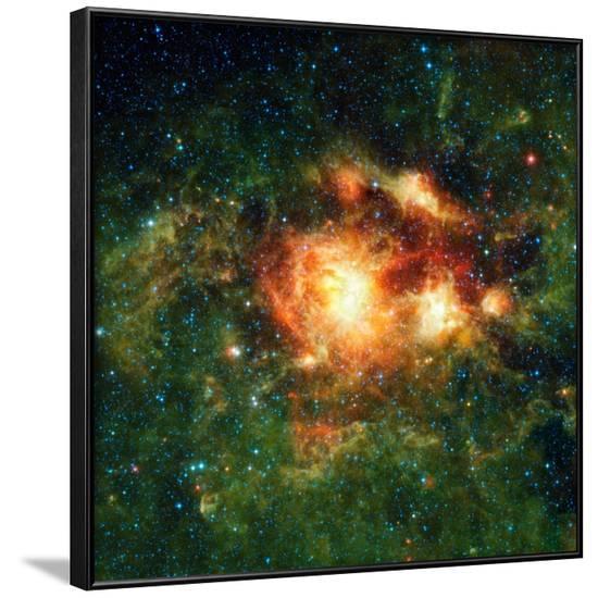 Star-birth Region, Space Telescope Image--Framed Photographic Print