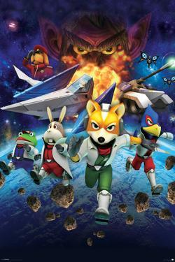 Star Fox 64- Charging Characters