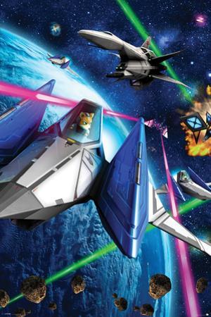 Star Fox 64- Space Battle