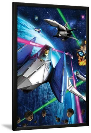 Star Fox 64- Space Battle