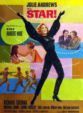 Star!, Julie Andrews on French Poster Art, 1968
