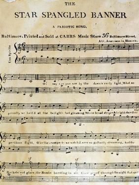 Star Spangled Banner, 1814