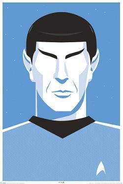 Star Trek: 50th Anniversary- Deco Spock