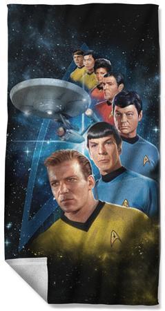 Star Trek - Among The Stars Beach Towel