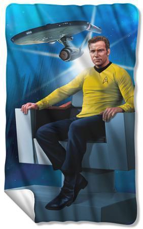 Star Trek - Captains Chair Fleece Blanket