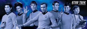 Star Trek Cast Blue