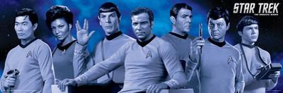 Star Trek Cast Blue